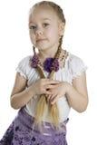 Little girl blonde Stock Photography