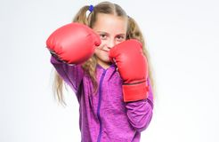 Little girl in boxing gloves punching. training with coach. Fight. Boxer child workout, healthy fitness. knockout and. Energy. Sport success. Sport and royalty free stock photos