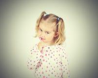 Little girl brushing her teeth. Stock Photography