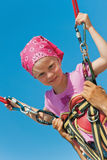 Bungee jumping Royalty Free Stock Image