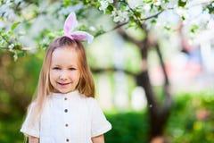 Little girl celebrating Easter Royalty Free Stock Photography