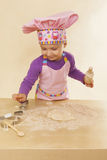 Little girl chef. Royalty Free Stock Photo