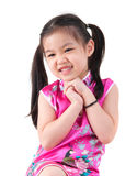 Little girl in Cheongsam Royalty Free Stock Images