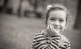 Little girl - child Royalty Free Stock Image