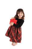 Little girl christmas Royalty Free Stock Images