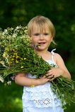 A little girl Royalty Free Stock Photos