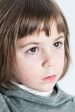 Little Girl Close Up Stock Photos