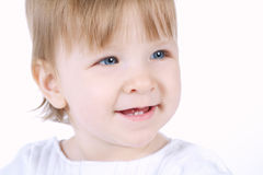 Little girl close-up portrait Royalty Free Stock Photos