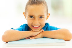 Little girl closeup Royalty Free Stock Images