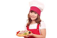 Little girl cook Stock Photo
