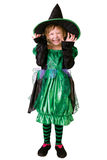 Little girl in costume for Halloween Royalty Free Stock Photos