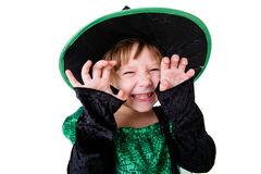 Little girl in costume for Halloween Royalty Free Stock Image