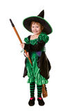 Little girl in costume for Halloween Royalty Free Stock Photography