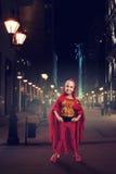 Little girl in costume Stock Image