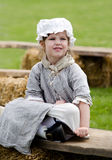 Little girl in costume Royalty Free Stock Images