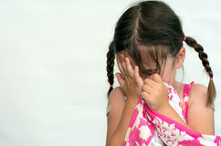 Little girl cry Stock Photography