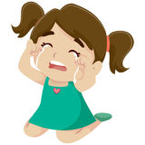 Little Girl Crying Royalty Free Stock Photos