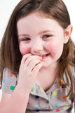 Little Girl with cute smile Royalty Free Stock Photography