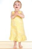 Little girl dance Stock Images