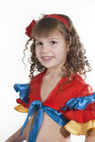Little girl dancer. Stock Photo