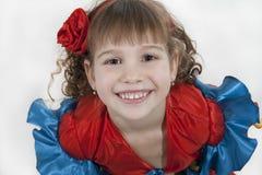 Little girl dancer. Stock Image