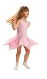 Little girl dancing Stock Photo