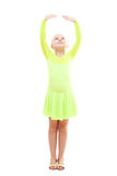 Little girl dancing Stock Photography