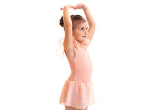 Little girl dancing Stock Image