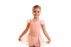 Little girl dancing Royalty Free Stock Images