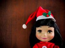 Little girl doll Stock Photos