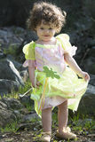 Little girl dressed as a fairy Stock Images