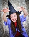 Little girl dressed in carnival costume Stock Photo