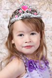 Little girl Dressed at Princess Royalty Free Stock Image
