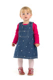 Little girl in dresses Royalty Free Stock Photos