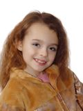 Little girl expressing photo model Stock Image