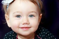 Little girl face Stock Photos