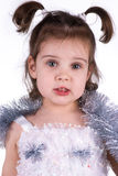 Little girl in fairy costume Stock Photography