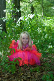Little girl in fairy costume Royalty Free Stock Photos