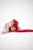 Winter joke Royalty Free Stock Images
