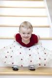 Little girl in fancy dress Stock Photo