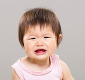 Little girl feeling sad Royalty Free Stock Photos