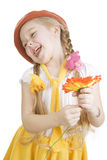 Little girl fun. Royalty Free Stock Photos