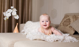 Little Girl Fun Royalty Free Stock Images