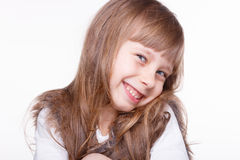 Little girl. Royalty Free Stock Images