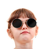 Little Girl in the Glasses Royalty Free Stock Image