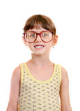 Little Girl in the Glasses Royalty Free Stock Photos