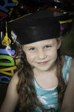 Little Girl Graduates Kindergarten 2 Royalty Free Stock Photography