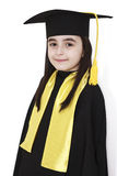Little girl graduation Stock Photography