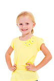 Little girl half length Stock Photo