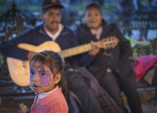 Little Girl, Halloween, Mexico Stock Photography